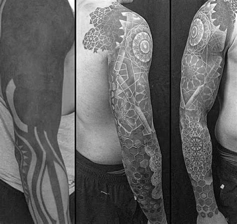 tattoo cover up geometric 50 tattoo cover up sleeve design ideas for men manly ink