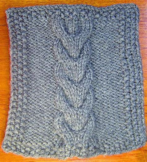 horseshoe cable knit pattern horseshoe cable square knitting pattern by terry morris