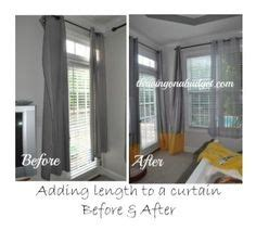 curtains too short gordyne on pinterest lengthen curtains curtains and
