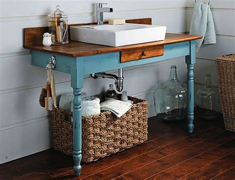 How To Make Your Own Bathroom Vanity Make Your Own Vanity 12 Inventive Bathroom Rehabs