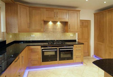 Handmade Kitchens Sheffield - oak shaker kitchen collection oak kitchen designs