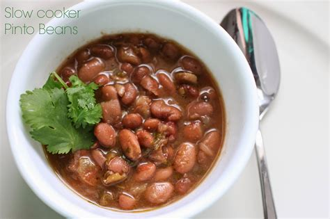 slow cooker recipe pinto beans slow cooker recipes