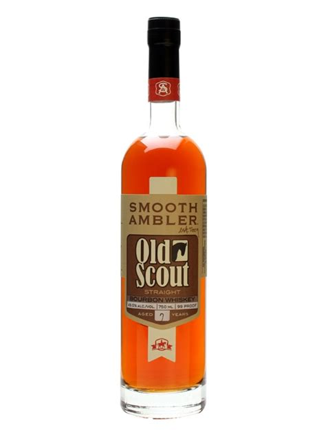smooth ambler old scout bourbon smooth ambler old scout 7 year old bourbon the whisky