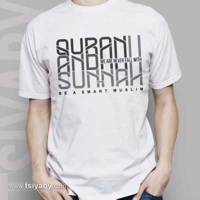 T Shirt Kaos Hitam Al Ayubi Clothing be a smart muslim tsiyaby