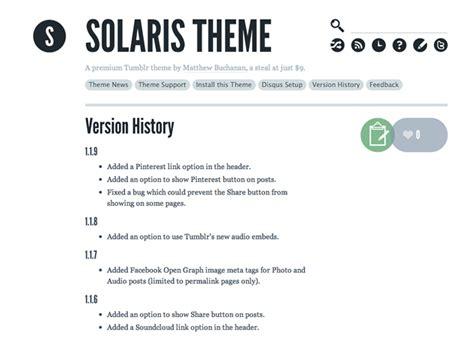 solaris tumblr theme free download solaris tumblr