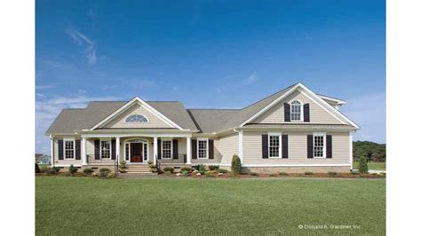 Home Plans One Story by Country House Plans One Story Homes Country House Plans