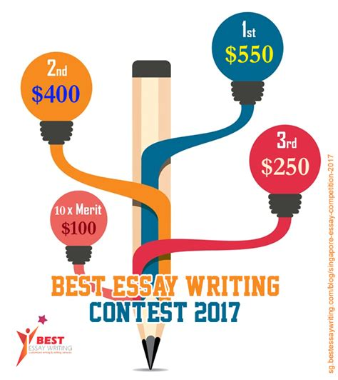 Essay Writing Contest by Singapore Essay Competition 2017 Best Essay Writing Service Singapore