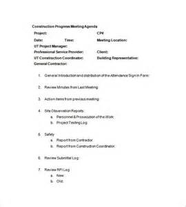 construction meeting minutes template construction meeting minutes template 7 free sle