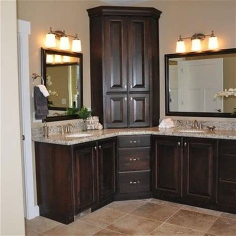 Bathroom Cabinet Design Best 25 Corner Bathroom Vanity Ideas On