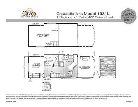 cavco cascadia park model homes from 21 000 the