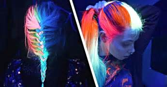 glow in the hair color glow in the hair is the newest trend of 2016