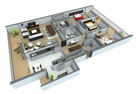 plantas 3d plantas de casas modelos planta baixa projetos
