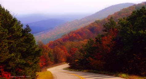 national scenic byway fall foliage best places in oklahoma bestoklahomahomes