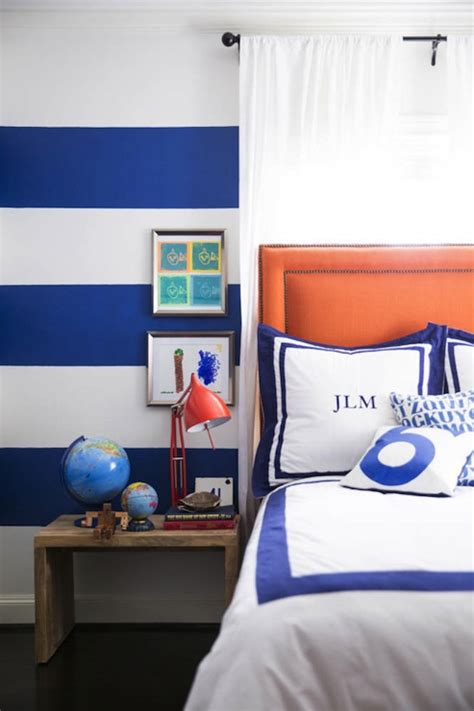 blue and orange room orange and blue boy s room contemporary boy s room