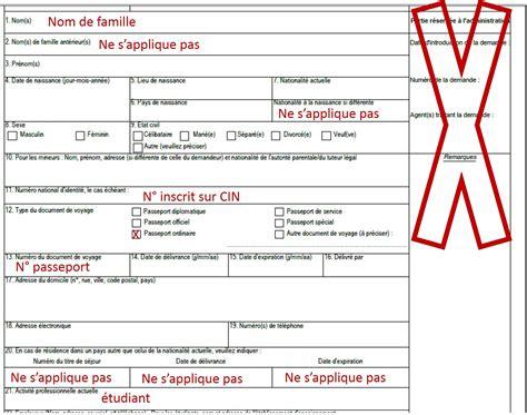 Model De Demande De Visa Court Sejour obtenir un visa 233 tudiant pour la la factory