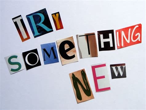 Something New by Ecoscrapbook Words Of Wisdom Wednesday Try Something New
