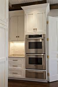 built in oven and warming drawer custom kitchens