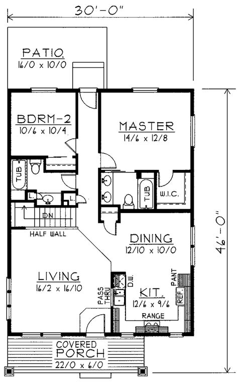 Two Story House Plans 1200 Sq Ft Joy Studio Design 1200 Square Foot House Plans 2 Story