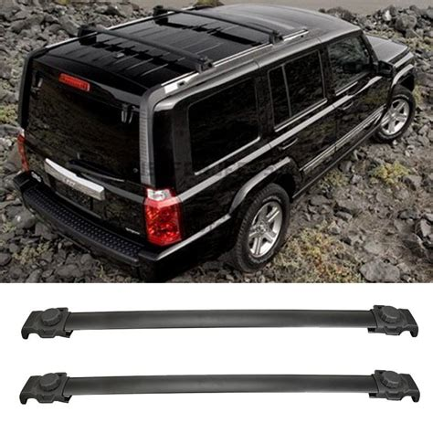 Jeep Crossbars 82210804 Fit For Jeep Patriot 2007 2015 Oe Style Black
