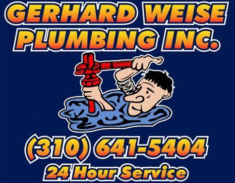 Weise Plumbing by Gerhard Weise Plumbing 24 Hour Service 310 641 5404