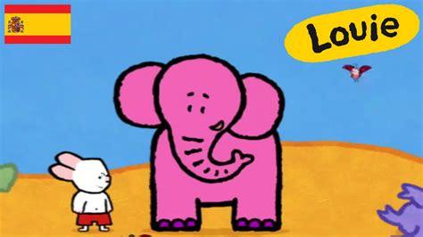 imagenes animadas youtube elefante louie dibujame un elefante dibujos animados