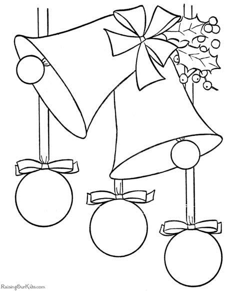 coloring pages of a christmas bell christmas coloring pages christmas bells