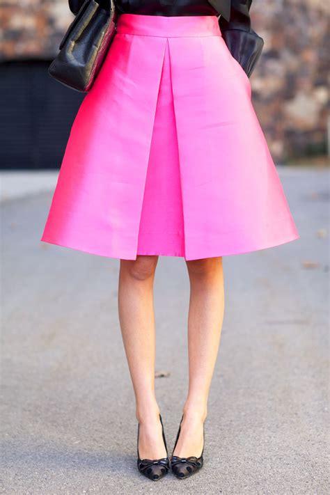 pink a line skirt dress ala