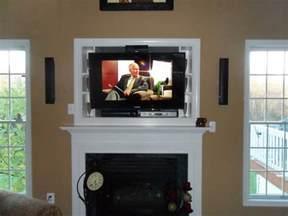 hanging tv fireplace safe fireplaces