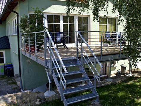 stahl überdachung terrasse metallbau r 246 nisch anfertigen treppen gel 228 ndern
