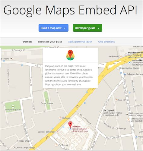 maps api today in apis maps launches embed api and 5 new apis programmableweb