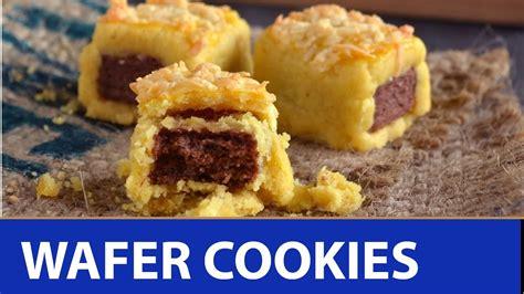 resep membuat kue kering wafer resep cara bikin kue kering wafer cheese cookies kue