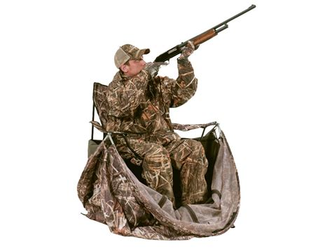 ameristep chairblind combo ameristep duck commander rapid shooter tent chair ground blind
