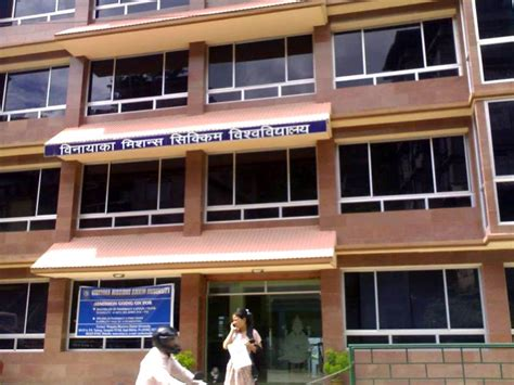 Mba Colleges In Sikkim by Vinayaka Missions Sikkim Vmsu Gangtok