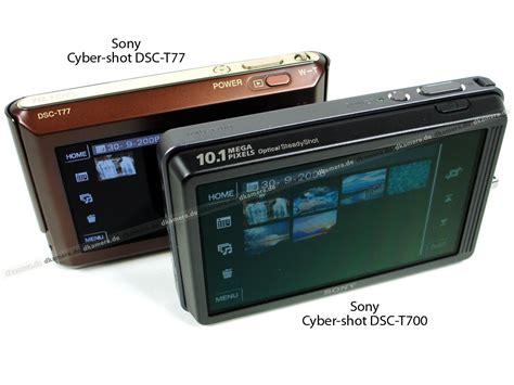 Kamera Sony T77 die kamera testbericht zur sony cyber dsc t77