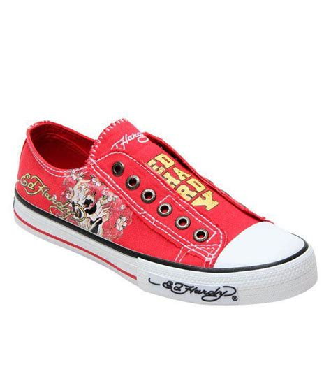 ed hardy skull canvas shoes price in india buy