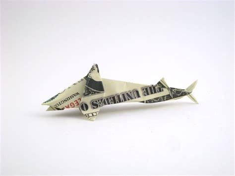 Dollar Origami Shark - origami sharks gilad s origami page