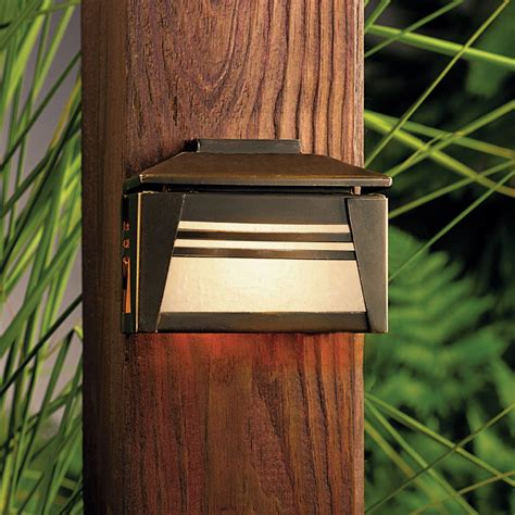 Kichler 15110oz Zen Garden 12v Deck Light Kichler Deck Lights
