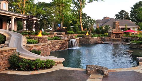 Pictures Of Backyards With Pools The Top 5 Most Stunning Hardscape Designs In Nashville Tn Lawnstarter