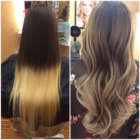 color correction hair salon color correction box ombre fail to totally fab color