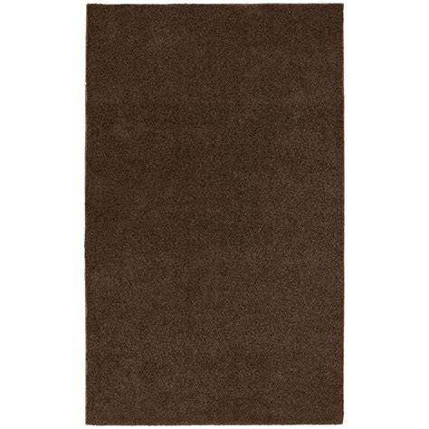Bathroom Area Rug Garland Rug Washable Room Size Bathroom Carpet Chocolate 5 Ft X 8 Ft Area Rug Brc 0058 14