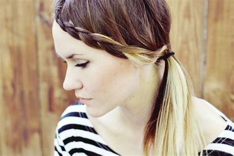 cute ideas to to your hair with a wand how to style braided bangs