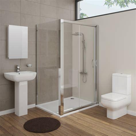 pro en suite bathroom package  mm sliding