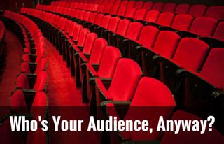 Whos Your Audience by Mountain Moxie Writing Knowing Your Audience Amwriting