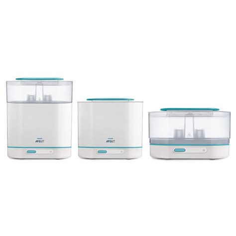 Philips Avent Electric Steam Sterilizer 2 In 1 Essential T1310 3 in 1 electric steam sterilizer by philips avent on lovekidszone lovekidszone
