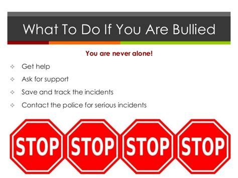 problems of well being bullying