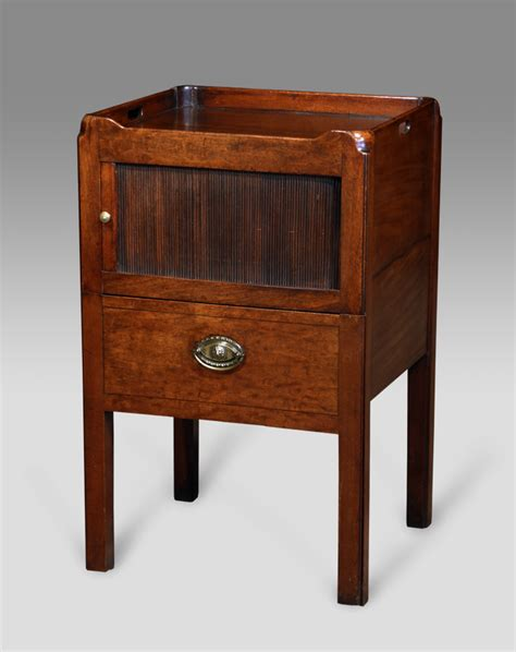 Antique Commode Cabinet by Antique Tray Top Commode Antique Bedside Cabinet Antique