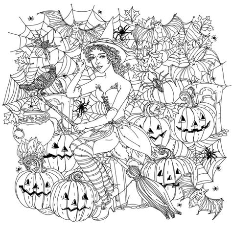60 best images about halloween colouring pages on