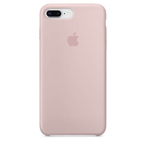 iphone     silicone case pink sand apple au