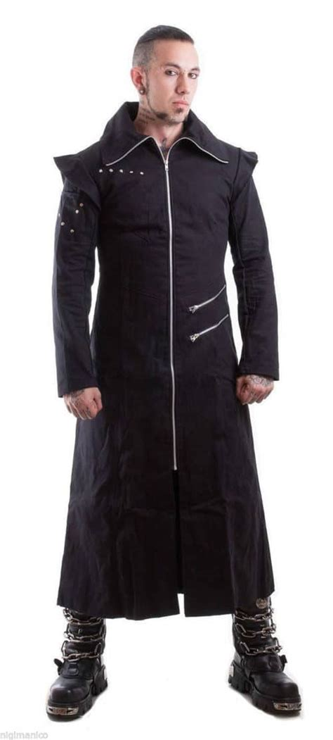 Hooded Trench Jacket black trench coat with zipper closure custom