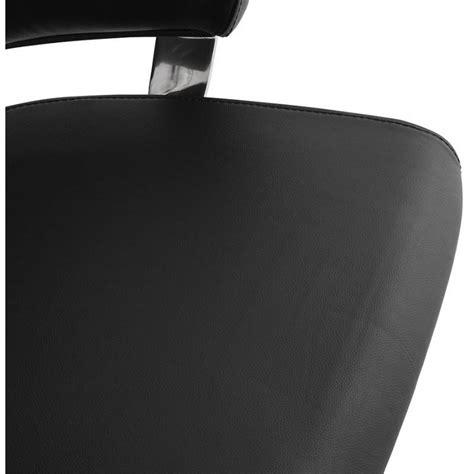 Chaise Cuba Noir by Fauteuil De Bureau Design Ergonomique Cuba En Cuir Noir
